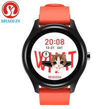 ساعة ذكية مكالمات بلوتوث Smartwatch الرجال النساء مقاوم للماء معدل ضربات القلب ضغط الدم لسامسونج أندرويد