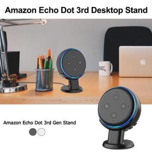 Image 1 - Supporto da tavolo Per Amazon Echo Dot 3rd Generazione Alexa di Smart Voice Assistenti Altoparlante Supporto Staffa Risparmio di Spazio