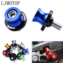 Motorcycle Accessories CNC 8MM Swingarm Slider Spools stand screws For HONDA CBR1000RR CBR6000RR CBR954RR CBR 600RR 954RR 1000RR