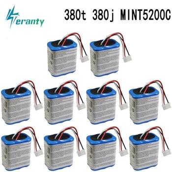 Bateria original 7.2V 2500mAh para iRobot Roomba Braava 380 380T hortelã 5200c Ni-MH 2500mAh 2.5Ah 7.2Ah bateria recarregável 1Pcs 1