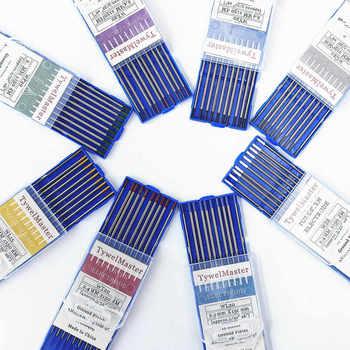 Profesjonalne elektrody wolframowe elektrody spawalnicze 1 0 1 6 2 0 2 4 3 0 3 2 4 0mm WT20 WC20 WL20 WL15 WZ8 WP WY20 WR20 Tig na wędki kup i oferty waveinn tanie i dobre opinie TywelMaster CN (pochodzenie) Tungsten Electrodes DC AC 10-250(DC AC) 150mm(6 ) 10pcs PK Electrode 1 0 1 6 2 0 2 4 3 0 3 2 4 0 for option