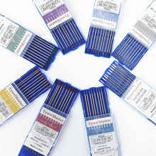 Électrodes de soudage professionnelles en tungstène, 1.0 1.6 2.0 2.4 3.0 3.2 4.0mm WT20 WC20 WL20 WL15 WZ8 WP WY20 WR20 tiges de Tig