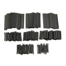 Kit d'assortiment de tuyaux électriques, 127 pièces, câble enroulé, étanche, 2:1