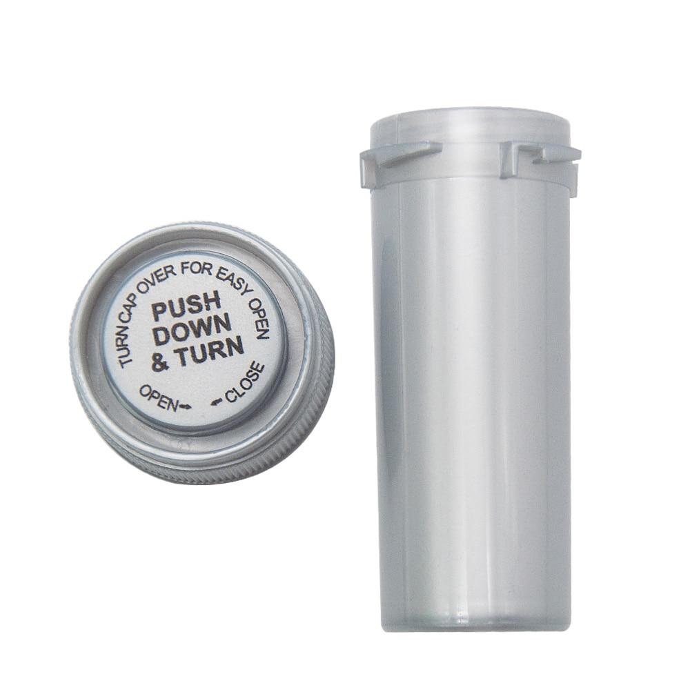 HORNET, 8 Dram, контейнер для флаконов с пуш-апом и поворотом, акриловый пластиковый контейнер для хранения, контейнер для таблеток, чехол для бутылки, контейнер для трав, водонепроницаемый контейнер