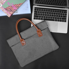 Sky Cross Border Europe And America Business Casual for Apple Nylon Document MacBook Hand Computer Bag New Style