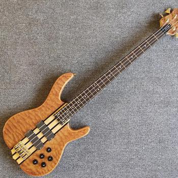 W magazynie Ken Smith 4 struny gitara basowa sklep fabryczny z litego drewna aktywne przetworniki gitara elektryczna gitara basowa tanie i dobre opinie Rosewood Z klonu LIPA Nauka w domu Do profesjonalnych wykonań Beginner Unisex Drewno z Brazylii 5 strings bass Blokowany klucz