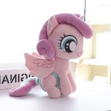 Плюшевые куклы, чучела животных Лошадь волнистое сердце Единорог детские игрушки отличный подарок
