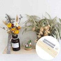 Simple feutre mur couleur barre Simple couche en bois étagère de rangement décoration support chambre toile de fond maison tenture murale décor|Lettres et numéros décoratifs| |  -