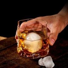 Японский Эдо дизайнер неправильной формы виски стекло es Бесплатный Матч Сферический лед шаблон раза бумага кристалл виски пива вина стекло