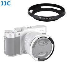 JJC cámara de anillo adaptador 52mm parasol de lentes de metal para Fujifilm X T100 XC15 45mm F3.5 5.6 io PZ lente