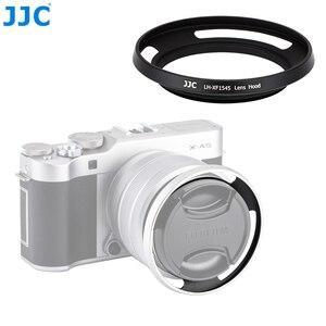 Image 1 - JJC cámara de anillo adaptador 52mm parasol de lentes de metal para Fujifilm X T100 XC15 45mm F3.5 5.6 io PZ lente