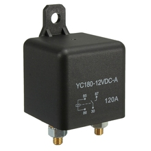 4-Pin DC 12V 120 AMP 120A HEAVY DUTY SPLIT CHARGE RELAY ON/OFF Van Car Boat