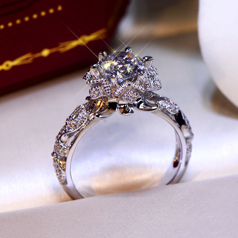 DODO Fashion Wedding band Bridal engagement rings for women vintage Jewelry female cubic zirconia ladies rings bagues DD508 (1)