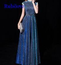 Rubilove Banquet dress female queen noble elegant long high-end slim host skirt ladies temperament