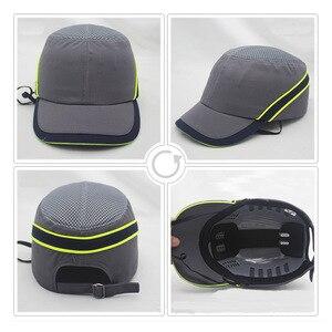 Image 3 - Neue Arbeit Sicherheit Bump Cap Fest Inneren Shell Schutzhülle Helm Baseball Hut Stil Für Arbeit Fabrik Shop Durchführung Kopf Schutz