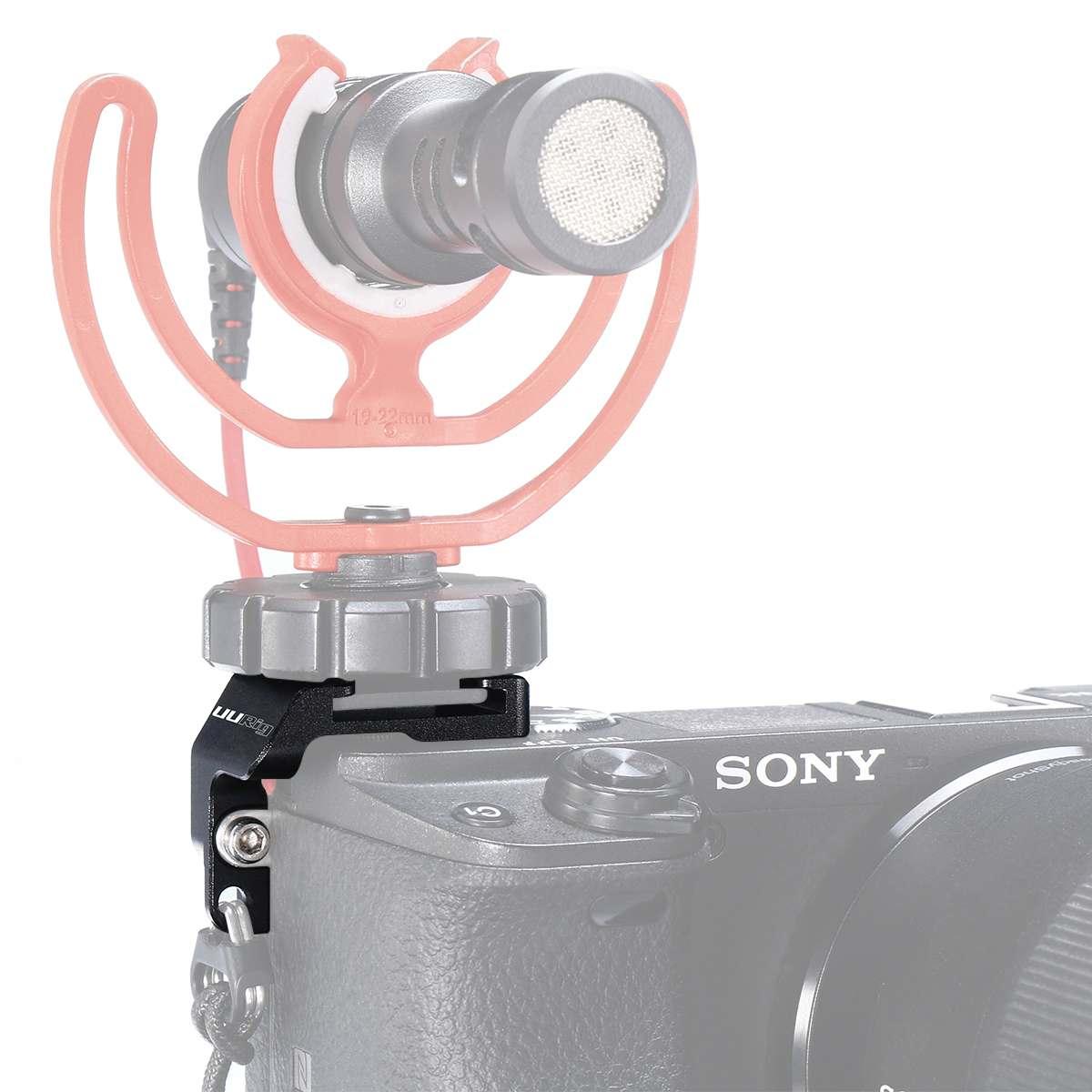 UURig R011 для sony A6400 для Vlog микрофон адаптер холодного башмака Крепление-переходник Горячий башмак Удлинитель кронштейн для фотостудии