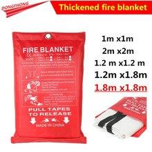 Fire-Blanket Safety-Cover Fiberglass Emergency-Survival Retardant