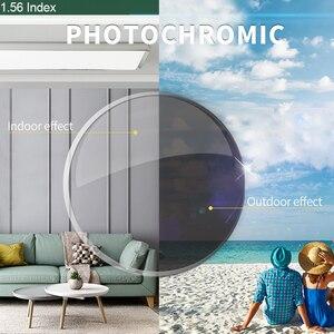 Image 1 - SASAMIA 1,56 Photochrome Objektiv Myopie Hyperopie Lentes Übergang Linsen Asphärische Brillen Linsen Für Auge