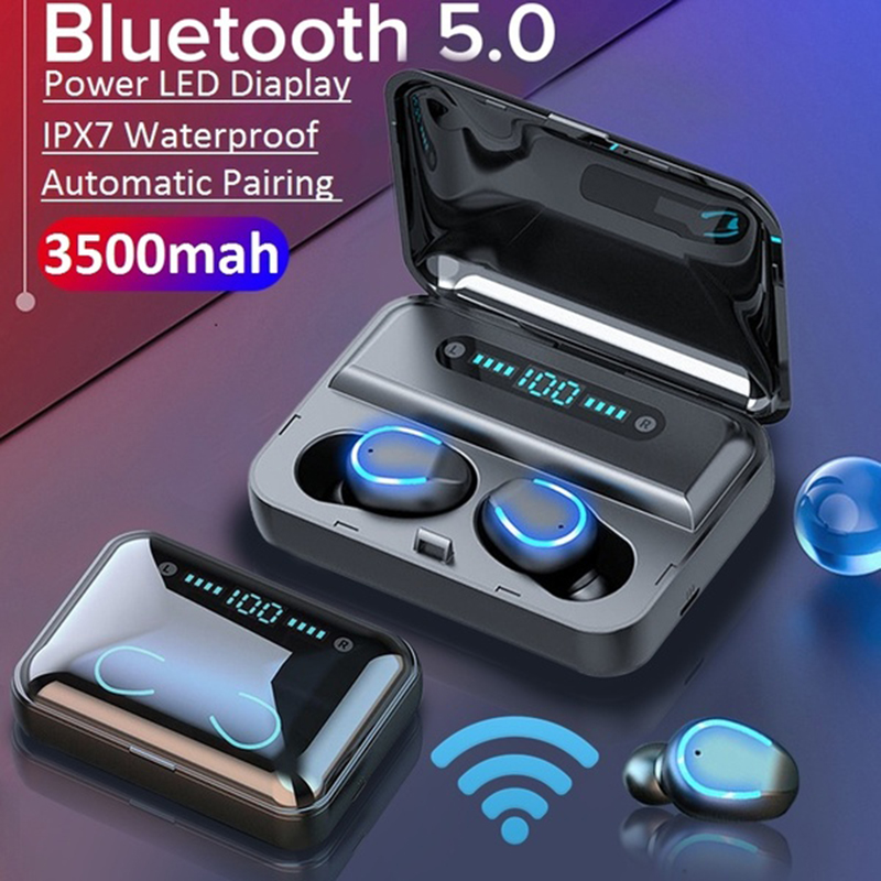 <font><b>TWS</b></font> Pro Noise Cancelling Bluetooth5.0 Earphones Fone de ouvido audifonos Headphones Wireless Headsets Waterproof gaming headset image