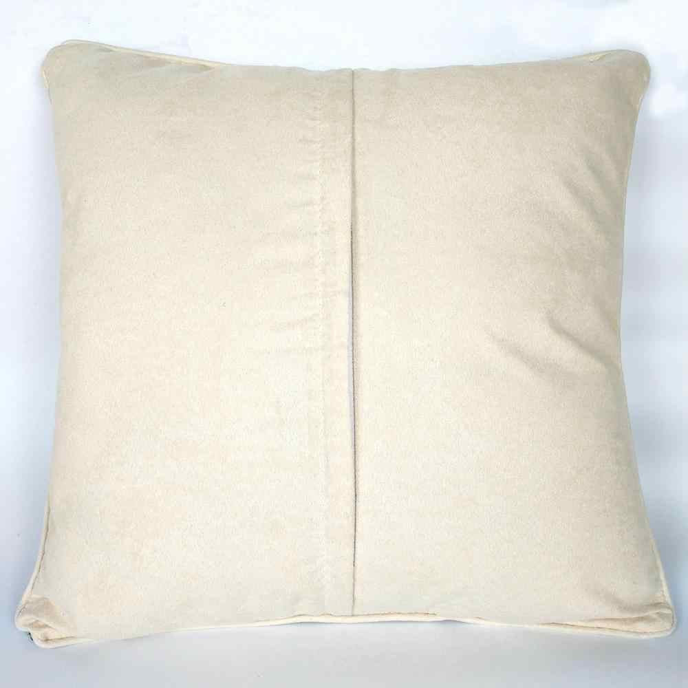 Trava gancho kit fazer sua própria almofada unicórnio & asa impresso lona crocheting travesseiro caso trava gancho capa de almofada hobby & craft