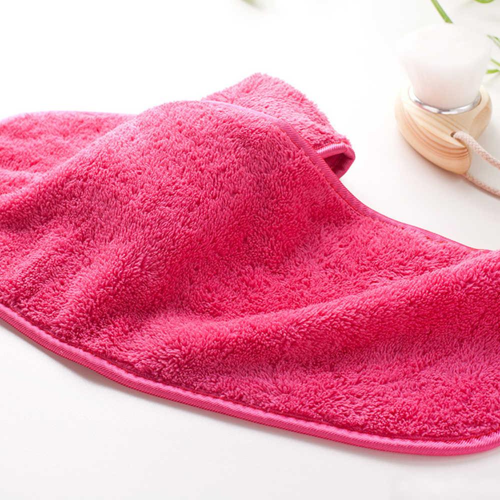 Yeniden kullanılabilir mikrofiber yüz yüz havlu doğal antibakteriyel koruma makyaj temizleyici temizlik yüz yıkama mikrofiber havlu