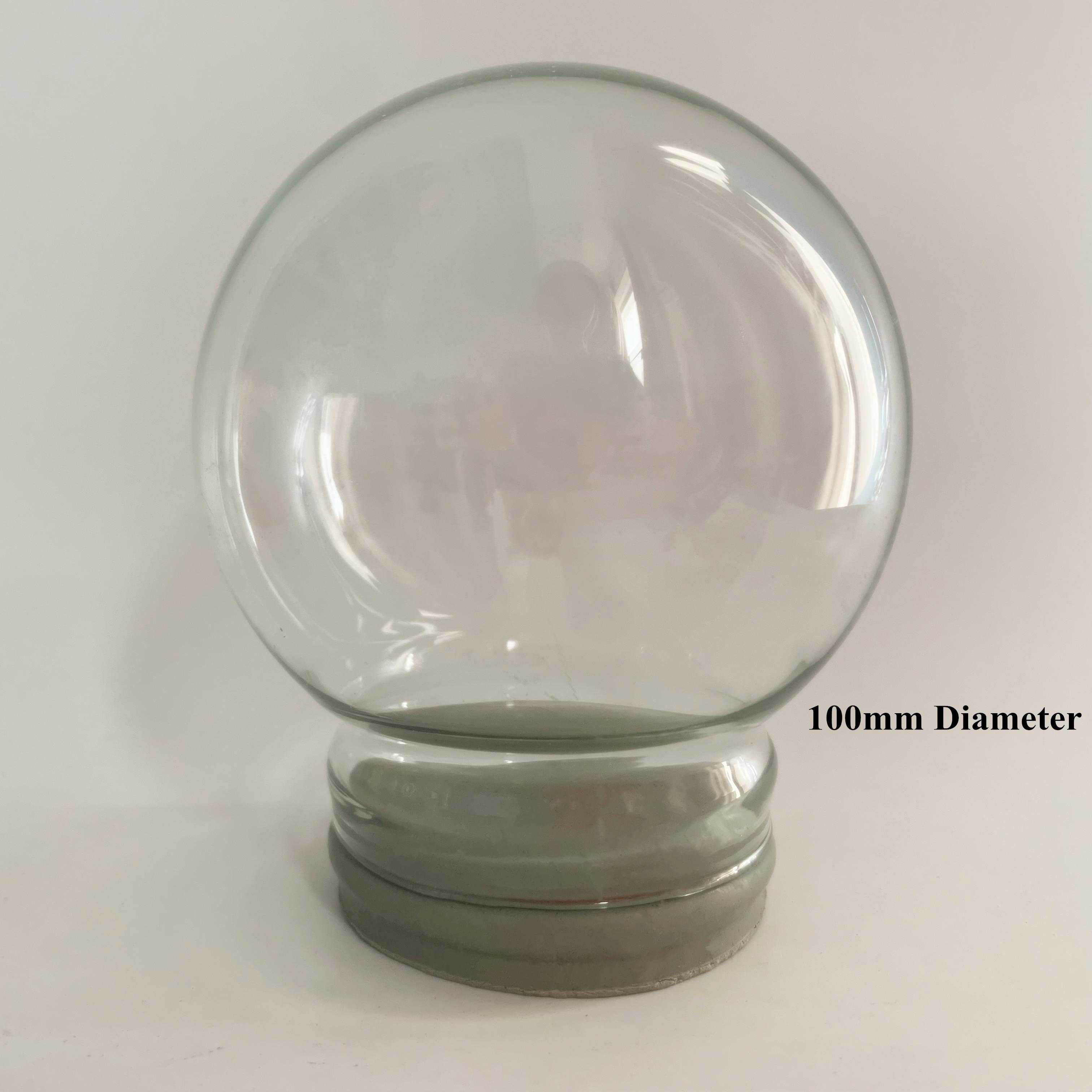 Promotional Gift 100 Mm Diameter DIY Empty Glass Snow Globe Kit Wholesales