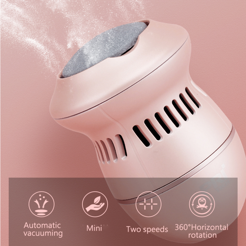 2018 Newest Electric Callus Remover Rechargeable File For Foot Vacuum Absorption Pedicure Tools  Foot Care Tools With 3 Heads