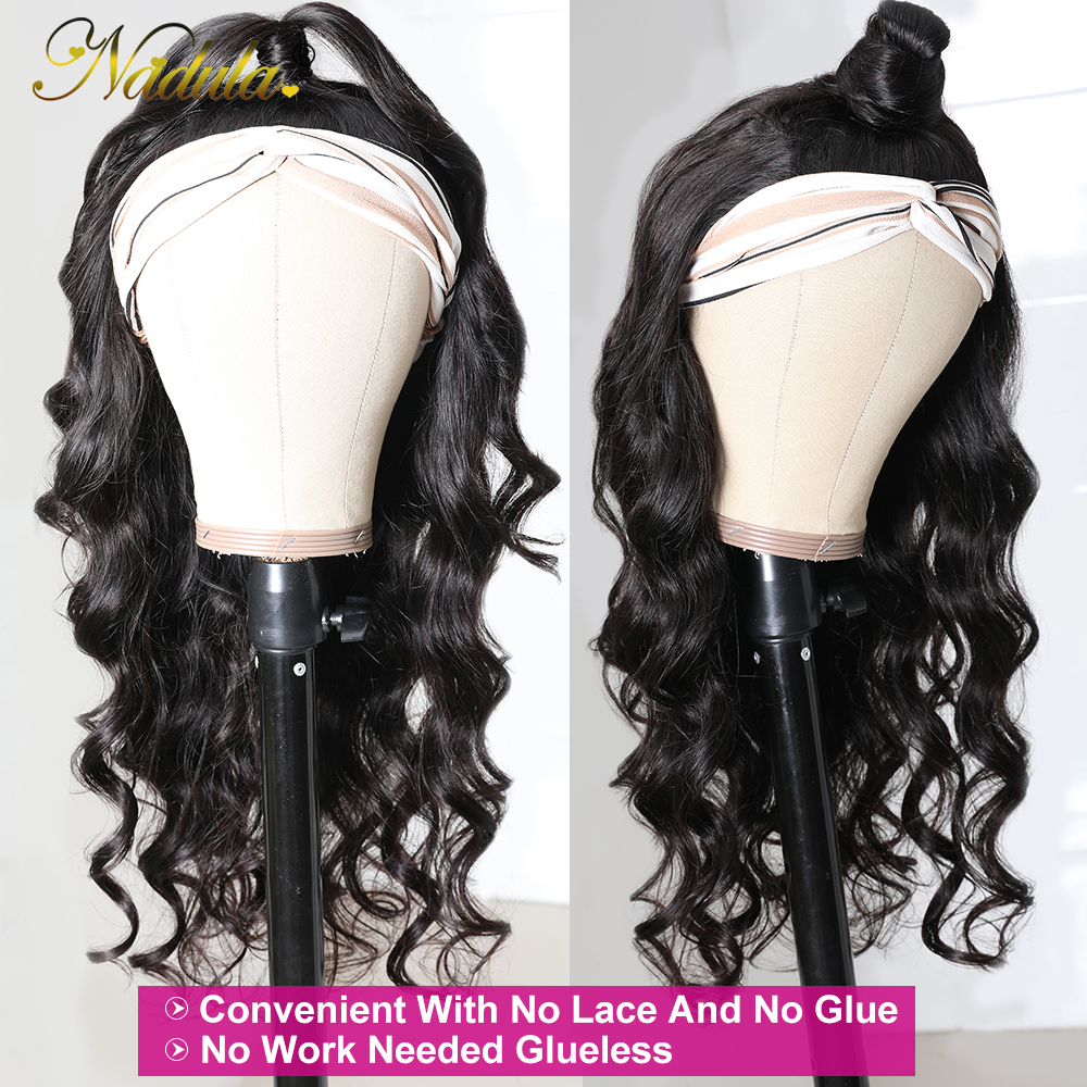 Body Wave Headband Wig No GLUE Headband Wig  for Black Women Nadula Hair Wigs Best and Easiest For Beginners 3