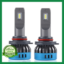 /HL araba LED far H1 H4 H8 H11 HB3 9005 HB4 9006 H7 LED ampul merhaba/düşük ışın h11 LED H4 far 12V ışıkları sis lambası