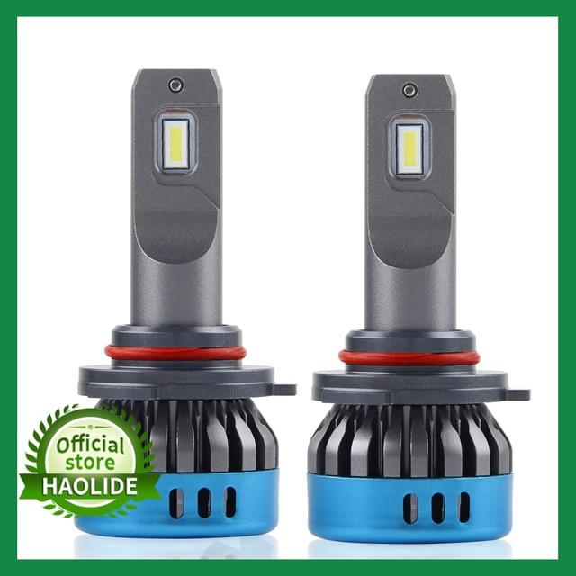 Lâmpada de farol automotivo led, h1, h4, h8, h11, hb3, 9005, hb4, 9006, h7, feixe hi/baixo farol de led h11 h4 para carro 12v, lâmpada de neblina