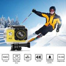 цена на SJ60 Waterproof 2 LCD 4K Wifi HD 1080P Ultra Sports Motion Action Camera DVR Cam Camcorder HDMI 32GB 170 Degrees HD Wide-angle
