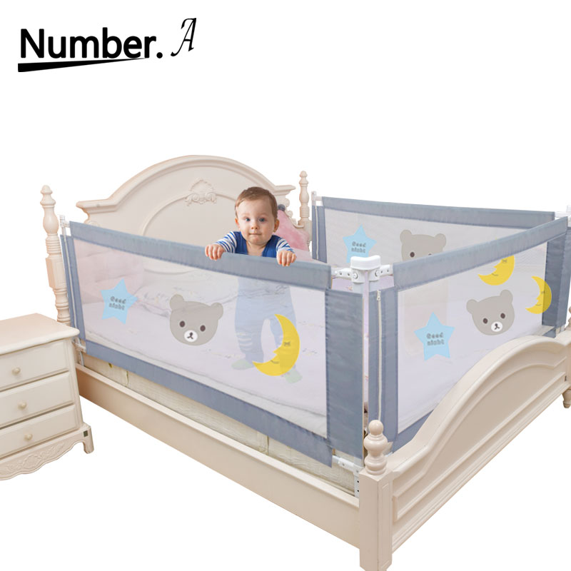 Baby Playpen Bed Fence Rails Safe Foldable Rail Security  Bed Barrier High Quality Fence Playground Home Crib Children Guardrail