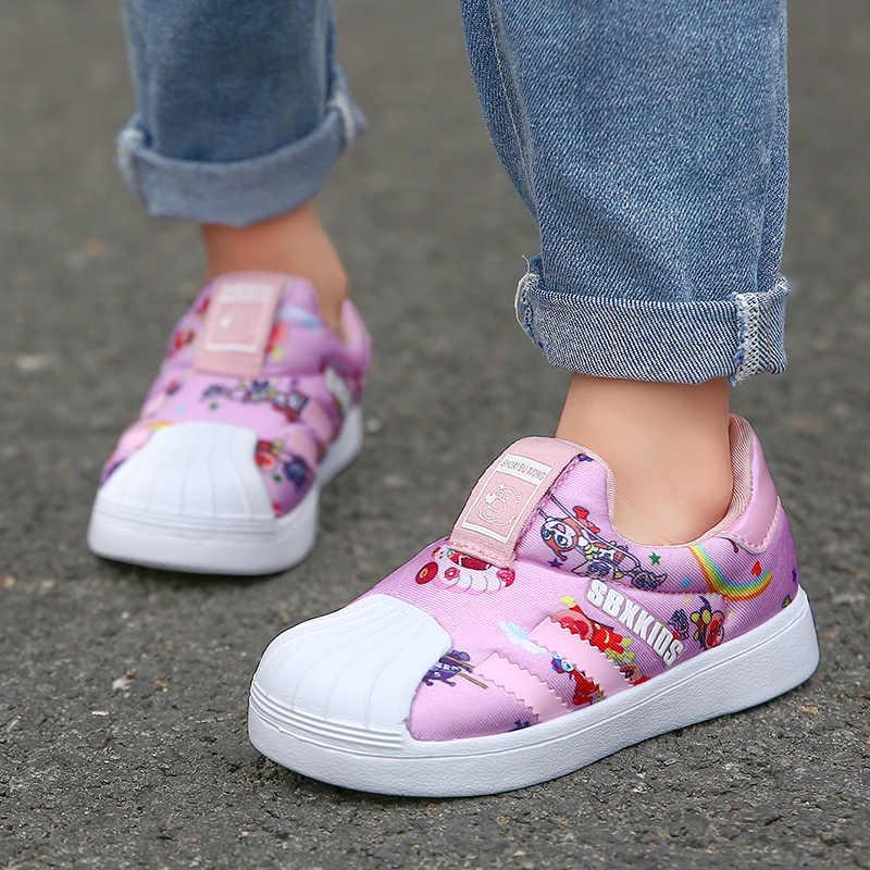 เด็กสเก็ตบอร์ดรองเท้าเด็กกีฬารองเท้ารองเท้าวิ่งสบายรองเท้าเด็กหญิงเล็กๆน้อยๆรองเท้าเด็กน้ำหนักเบา 22-35