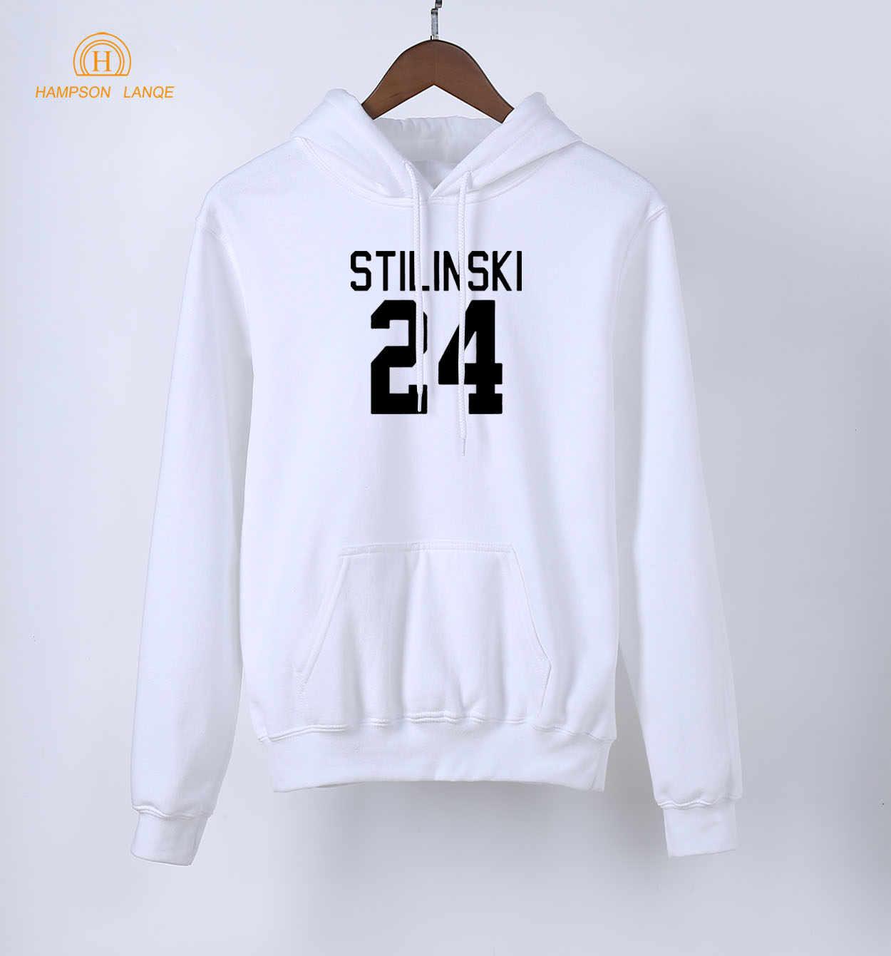 في سن المراهقة الذئب Stilinski 24 طباعة العلامة التجارية مقنعين النساء 2020 ربيع الخريف طويلة الأكمام بلوزات Kpop هوديس البلوفرات