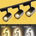 LED Strahler 220V Spot Lichter Led Track Lichter Lampe 12/20/30/40W Schiene Flecken leuchte für Küche Wohnzimmer Shop