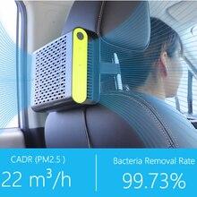 Мини автомобильный очиститель воздуха с настоящие hepа воздушные фильтры фильтр автомобильный освежитель воздуха удалить пыльцу дыма и плохой запахи ионный очиститель воздуха автомобиля