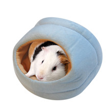 Hamster House Guinea Pig Accessories Hamster Cotton House Small Animal Nest Winter Warm For Rodent/Guinea Pig/Rat/Hedgehog
