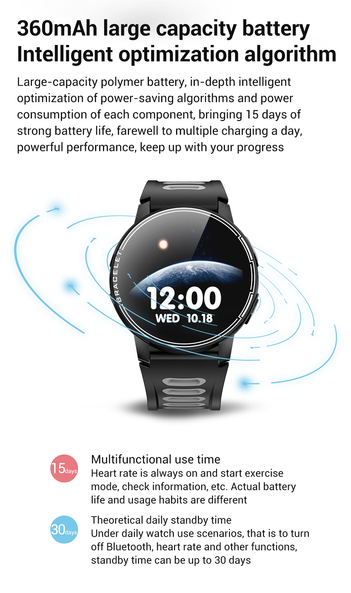 H8b24486648cc472bb155d69e66d0b1day 2020 New L6 Smart Watch IP68 Waterproof Sport Men Women Bluetooth Smartwatch Fitness Tracker Heart Rate Monitor For Android IOS