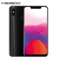 MEIIGOO S9 mobile phone 4GB RAM 32GB ROM MTK6750T Octa Core 6.18FHD Android 8.1 5000mAh 4G LTE 13MP Face ID Smartphone