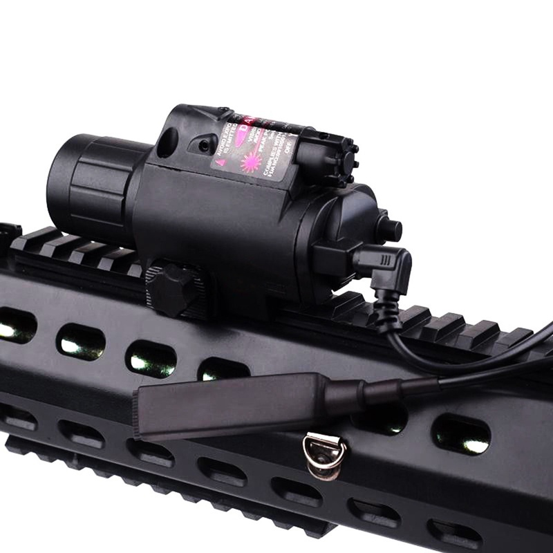 Green/Red Laser Sight LED Flashlight with 20mm Picatinny Rail Mount for Glock 17 19 22 Hunting Rifle-1