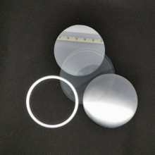 58MM 100 Sets Mirror Badge Blank Button Supply Materials for NEW Professional Maker