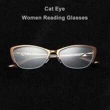 Распродажа бренд высокого качества кошачий глаз женские очки для чтения 4 стиля мужские рецепт на очки для зрения+ 1,0 1,5 2,0 2,5 3,0 3,5 4,0