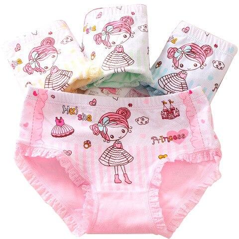Style It Up New Kids Girls Briefs Knickers Underwear Plain 100/% Cotton Pants