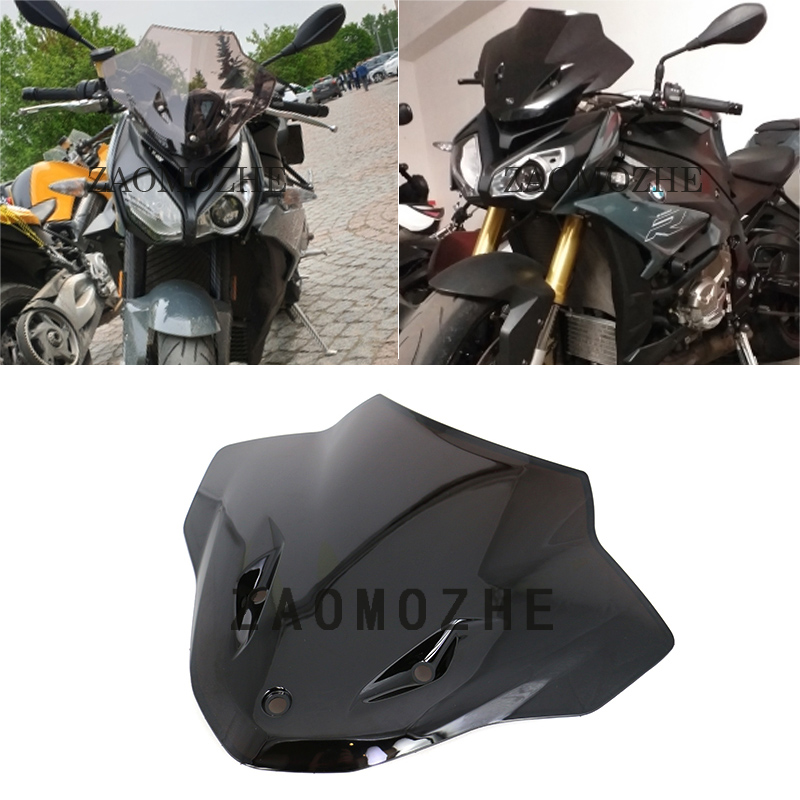 Suitable for BMW S1000R windshield double bubble ABS motorcycle front deflector