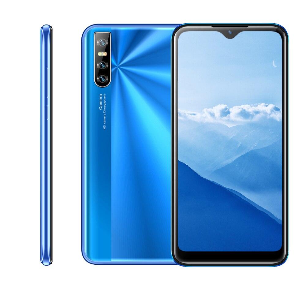 Сотовый телефон S9 4 Гб ОЗУ 64 Гб ПЗУ четырехъядерный 5 Мп 13 МП камера 6,26 дюймов HD экран распознавание лица разблокированный WCDMA GSM 3G смартфон ...