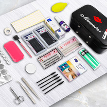 12/14/22 Stks/set Wimpers Extension Praktijk Oefening Kit Eye Make-Up Set Graft Wimper Tool Kit Praktijk eye Lashe Graft Doos