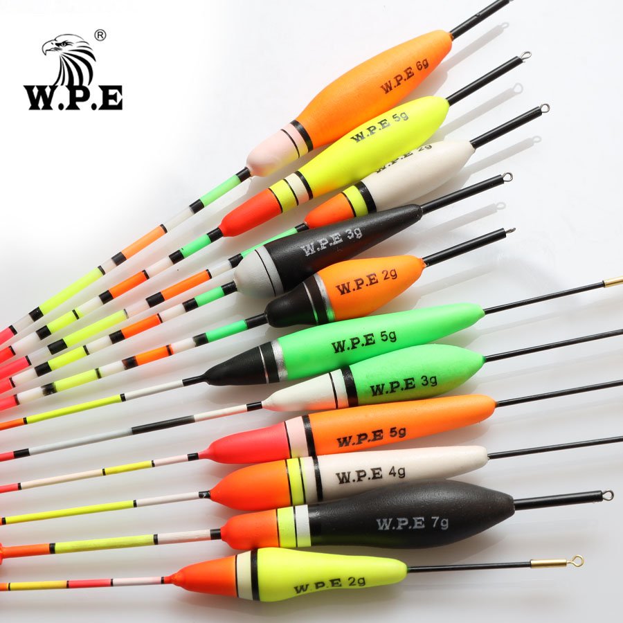 Durable Hot Portable Fishing Floats 3g-6g  Weight Tail Bobber  Paulownia Wood