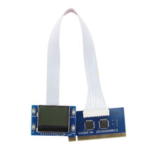 Network PC PCI Analyzer PCB Detection Accessories Desktop Test Card Tools Motherboard Mini LCD Screen Computer Diagnostic(China)