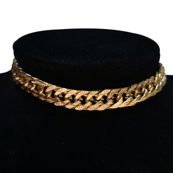 New Cuban Link Chain Choker Necklaces Chunky Wide Gold Color Stainless Steel Neck Chain Collar Necklace For Men Women Jewelry