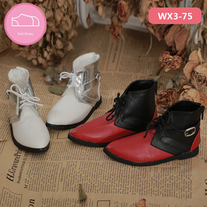 Image 4 - Shoes For Doll BJD  Brown PU Leather Fashion Mini Toy Boys Man Shoes 1/3 Doll for IP Hid ID72 Doll Accessories  luodoll